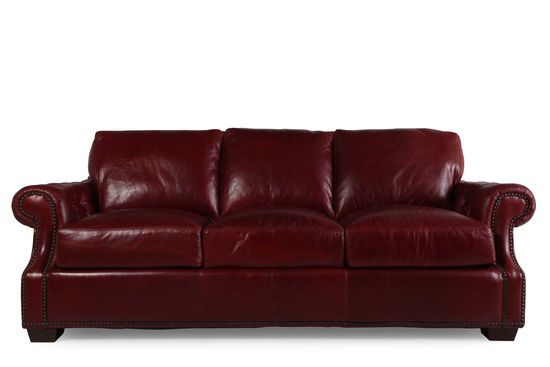 usa leather marsala red sofa custom leather furniture pinterest rh pinterest com