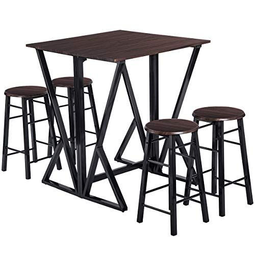 dinning set for 4 julyfox 36 inch counter height dinning table 4 rh pinterest com