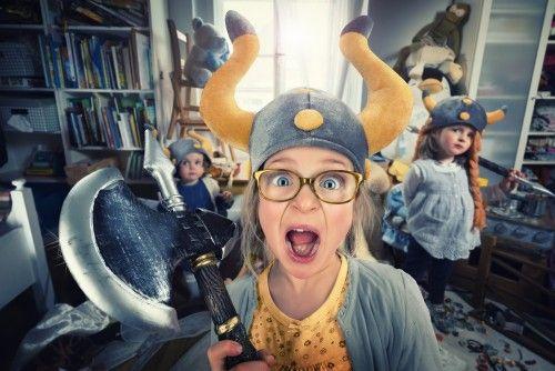 NO DAD! Vikings do not clean their ro... by John Wilhelm
