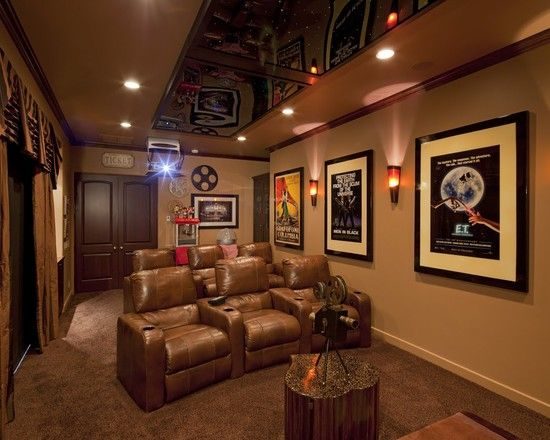 traditional media room design pictures remodel decor and ideas rh pinterest com