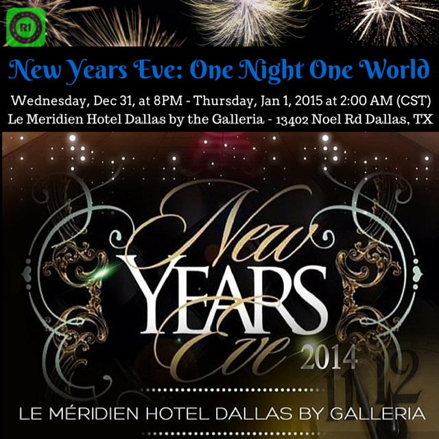 EVENT IN DALLAS! New Years Eve One Night One