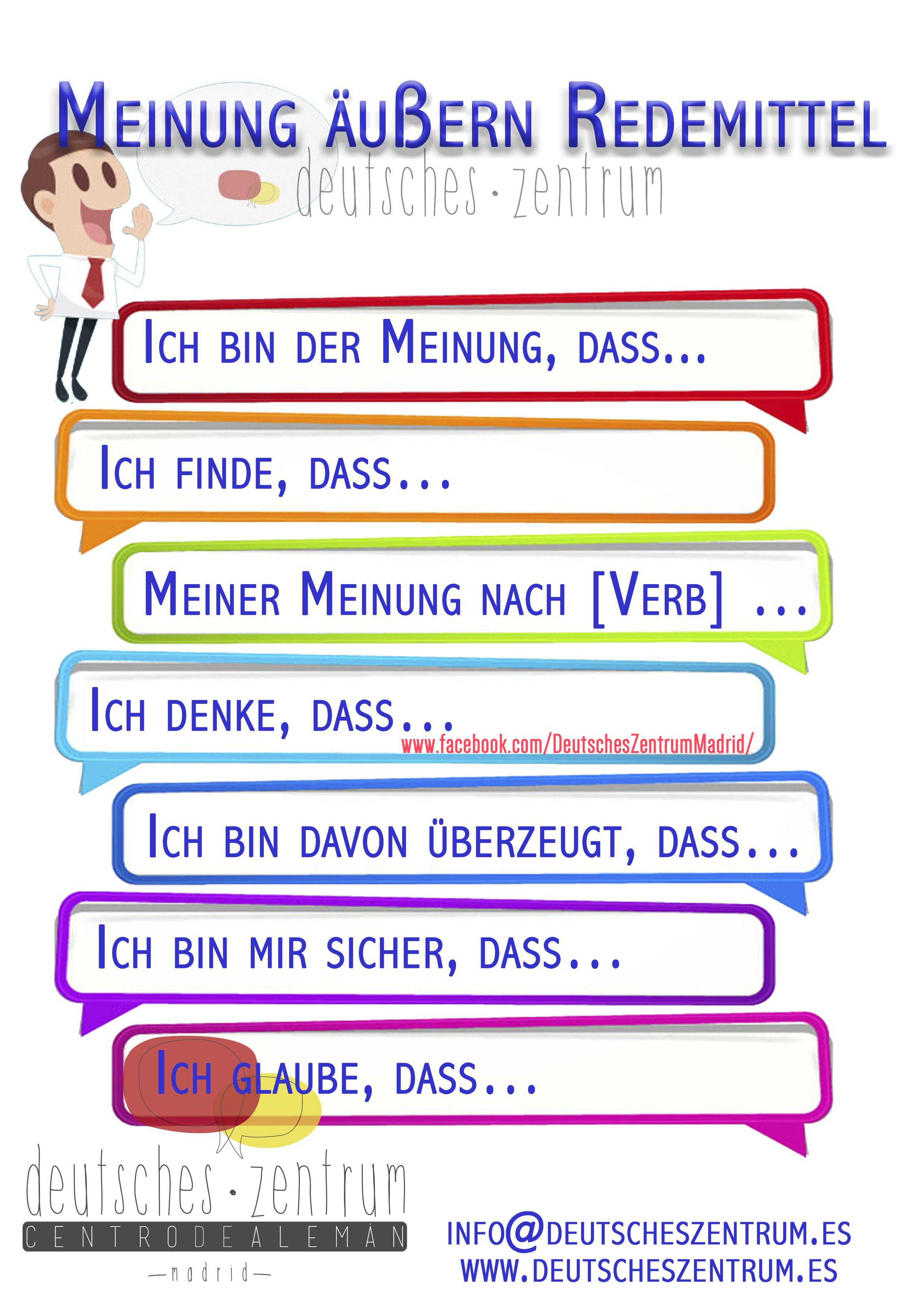 redemittel deutsch wortschatz grammatik german alem225n daf