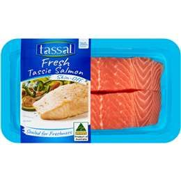 Tassal Tasmanian Atlantic Salmon Skin Off 260g #teriyakisalmon