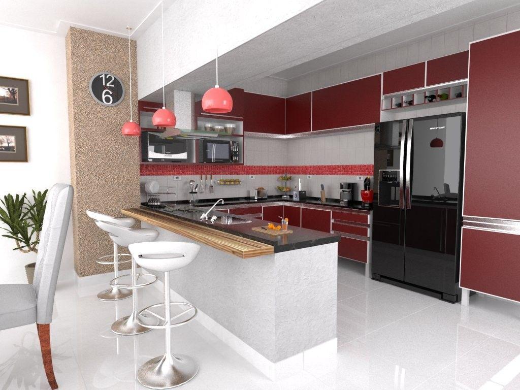 Cozinhas Americanas Ideias E Inspira Es Amagai Im Veis 943738