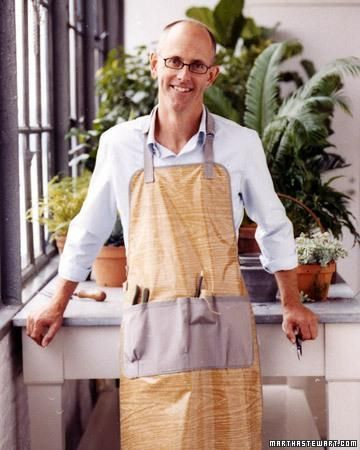 Gardener S Apron With Images Gardening Apron Spring Sewing