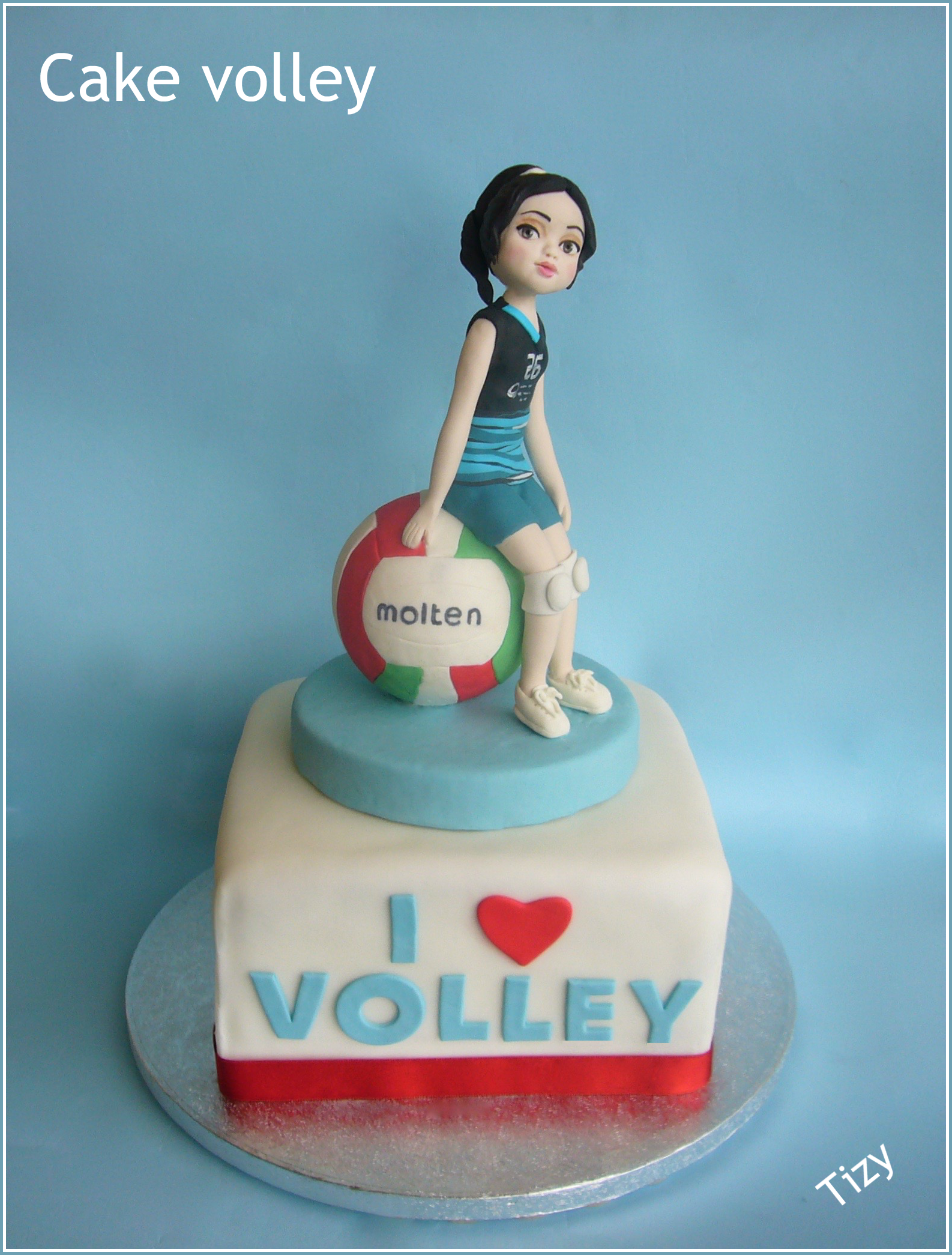 Cake Volley Volleyball Cakes Cake Girl Cakes