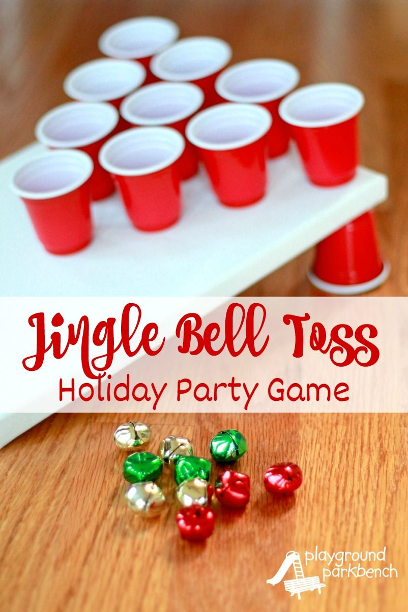 Office Christmas Party Game Ideas Part - 32: Holiday Party Games - Jingle Bell Toss. Company Christmas Party IdeasOffice  ...