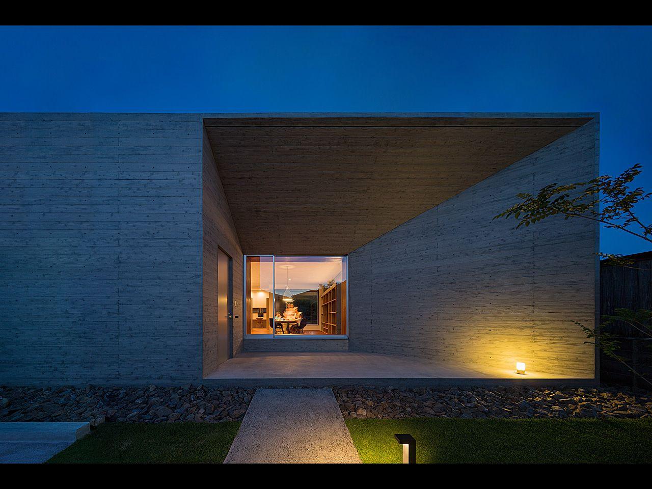 House of Amami Oshima is a minimalist house located in Kagoshima ...