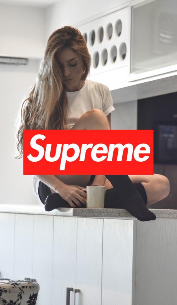 2019的hot Supreme Wallpaper Iphone Wallpaper Girl Supreme