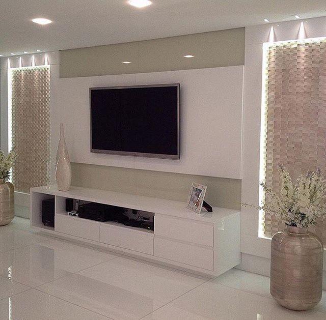 sala ilumina o decor pinterest wohnzimmer haus und steinwand wohnzimmer. Black Bedroom Furniture Sets. Home Design Ideas
