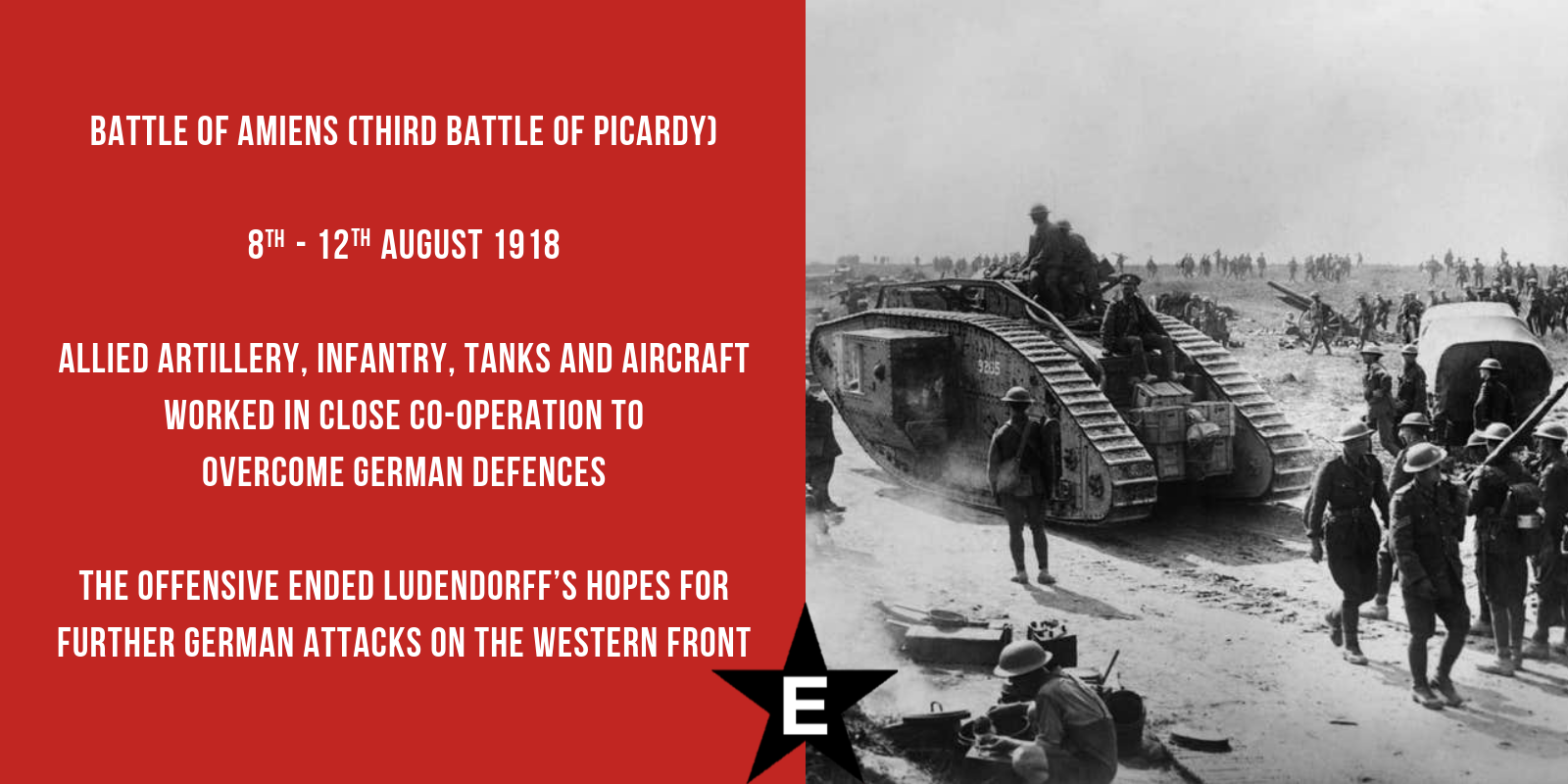 Onthisday The Allies Launched A Major Ww1 Offensive