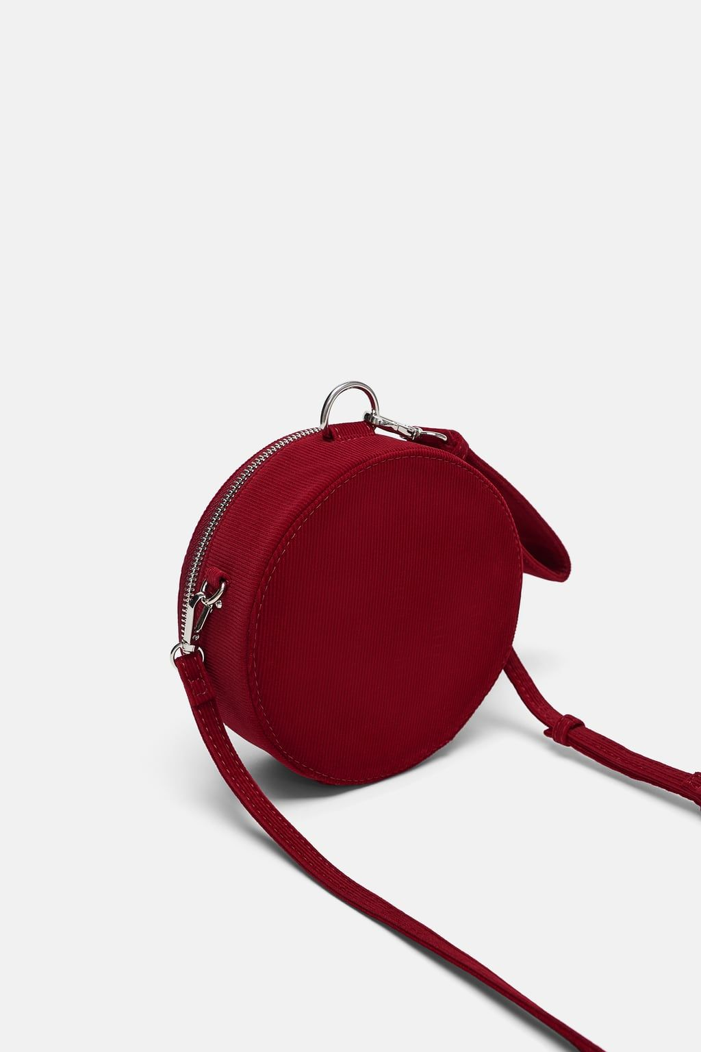025d334868af Image 6 of ROUND CORDUROY CROSSBODY BAG from Zara | Wish List in ...