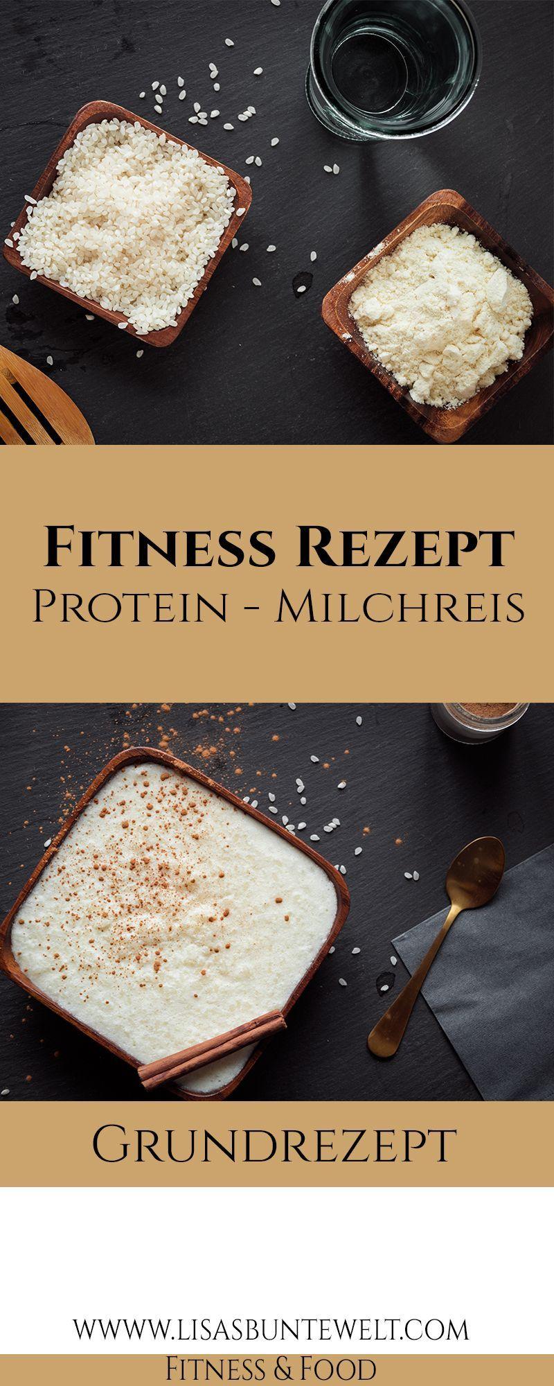 Fitness Rezept - Der beste, gesunde Protein-Milchreis - Fitness rezepte - #beste #der #fitness #fitn...