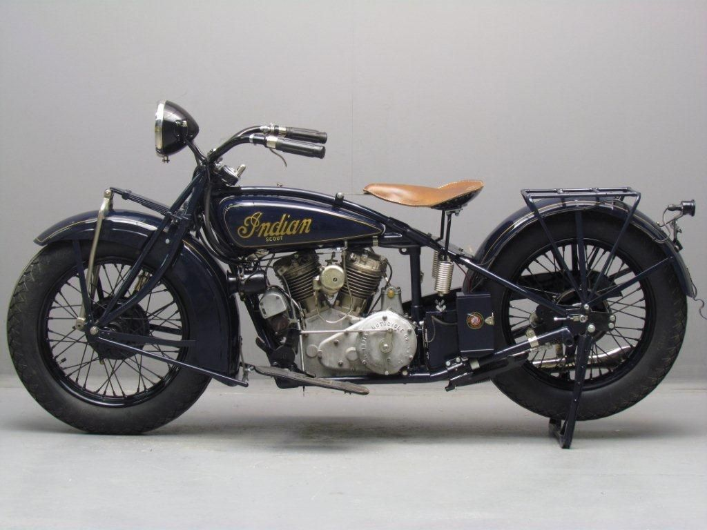 Indian 1930 101 Scout 750cc 2 Cyl Sv Indian Motorcycle Scout