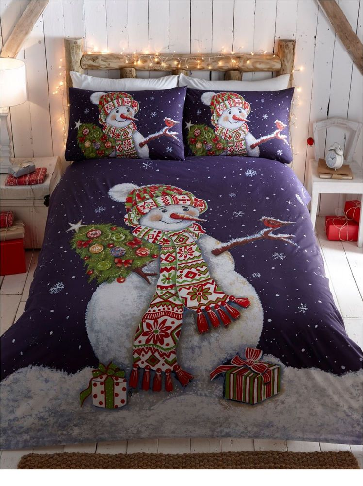 Christmas Quilt Duvet Cover Bedding Bed Sets - Single, Double and ...