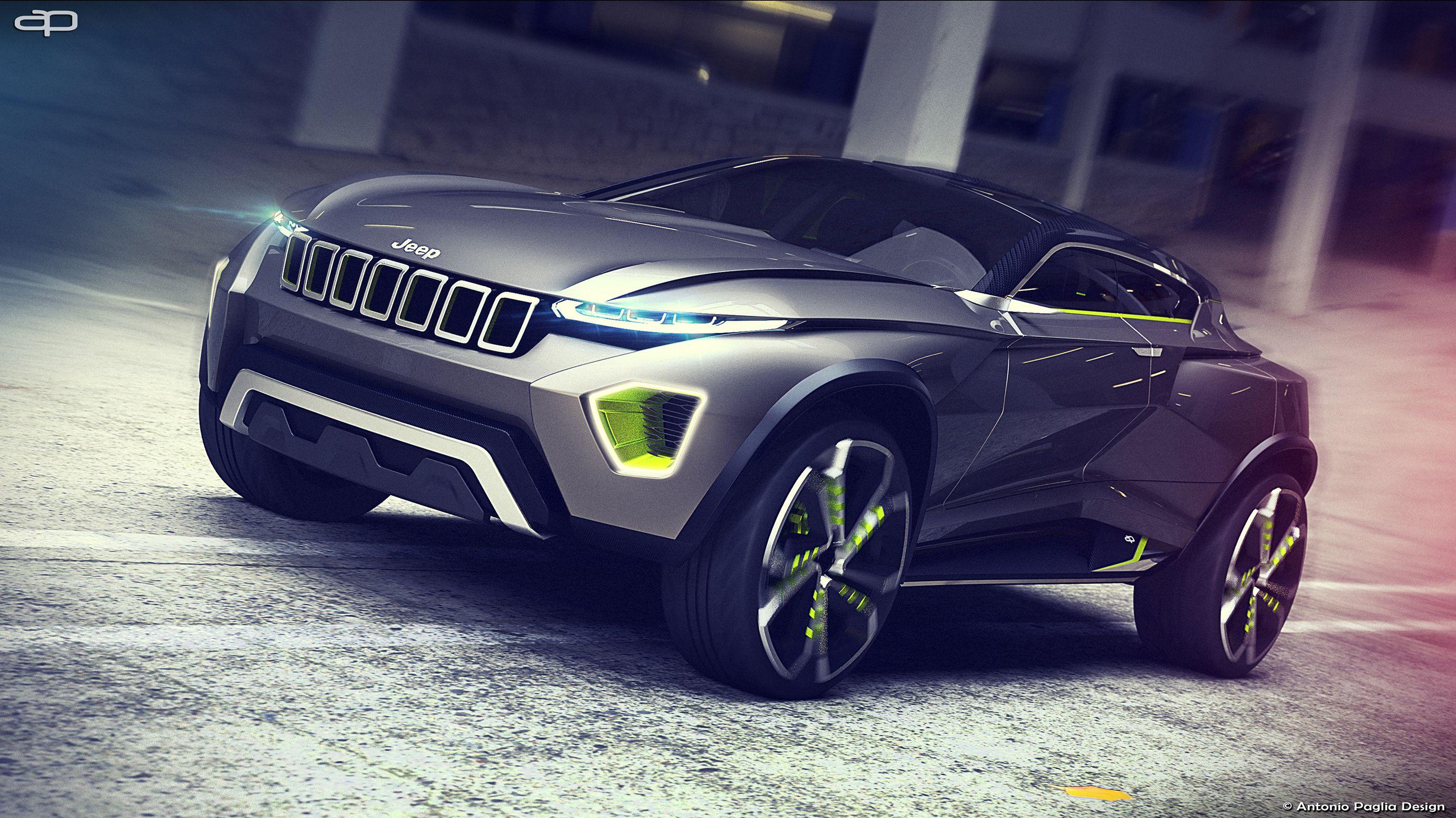 Jeep Concept Freedom Suv On Behance Jeep Concept Jeep Suv Futuristic Cars