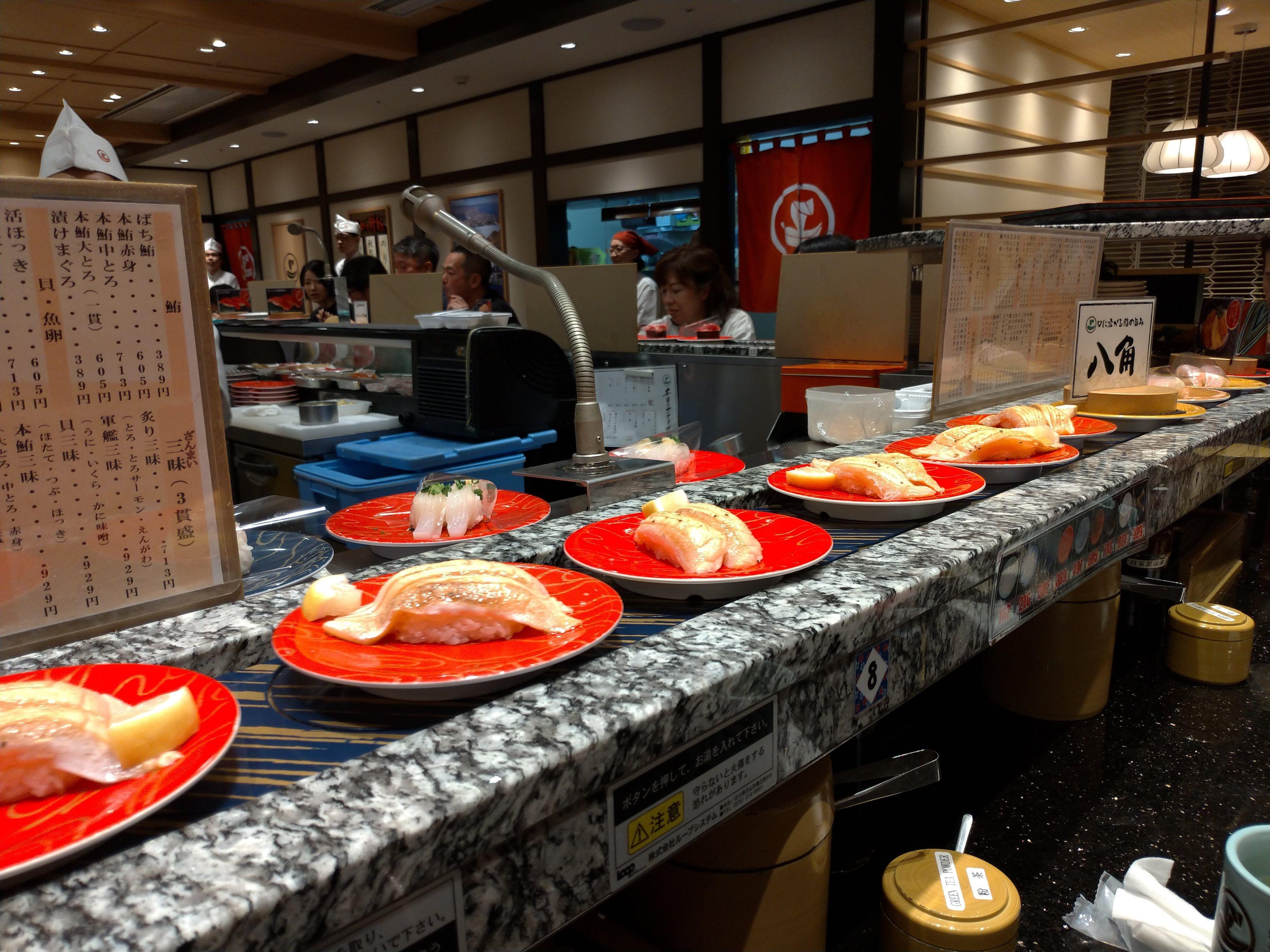 北海道でまだ回転寿司を食べていない方は新千歳空港3階函太郎に行こう 寿司 回転寿司 寿司 ランチ