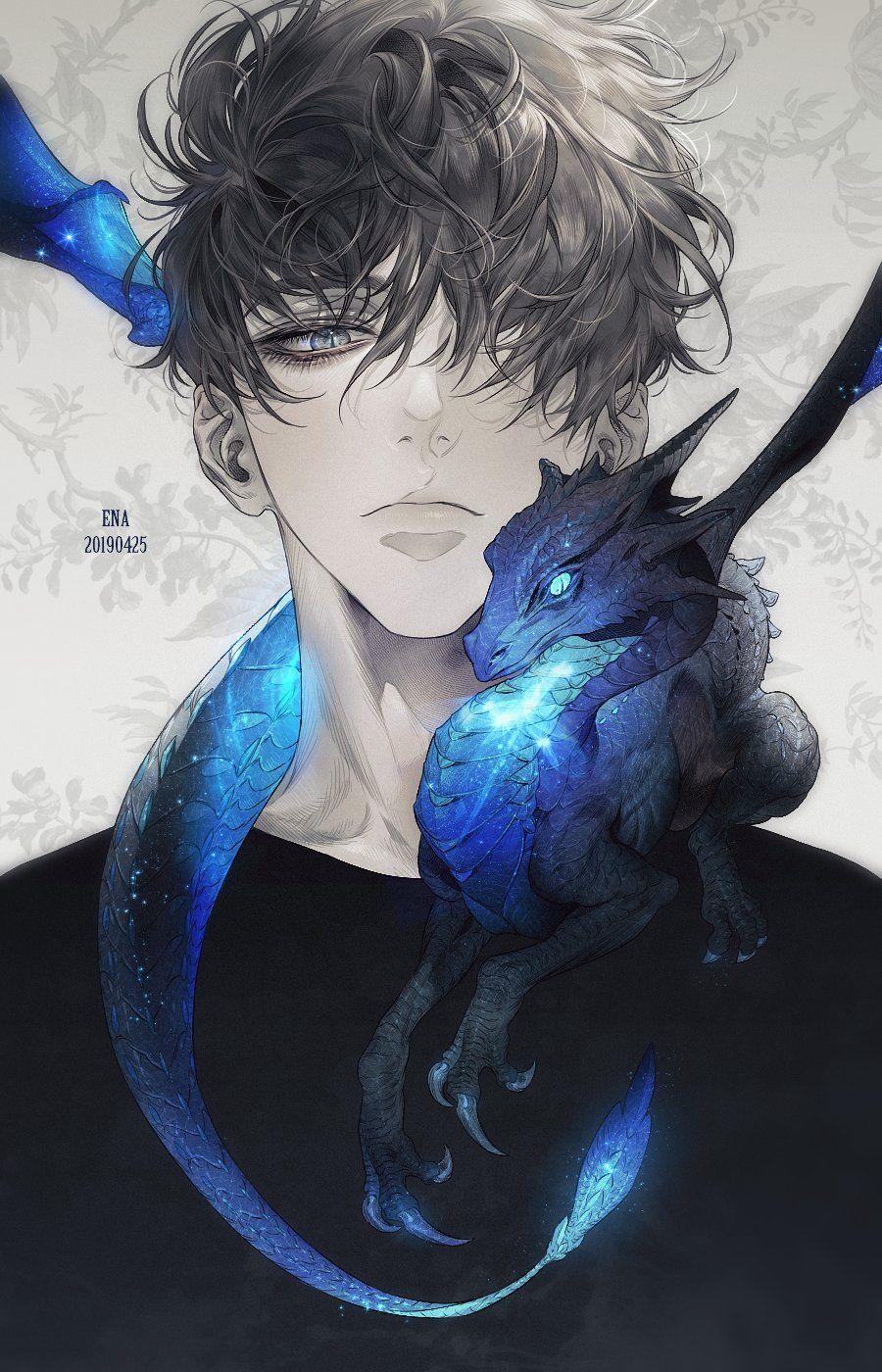 Anime Dragon Boy : anime, dragon, 에나, Twitter, Anime, Drawings, Drawings,, Fantasy