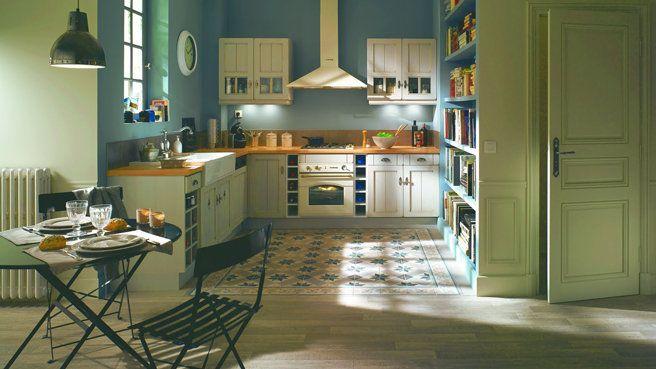 organisation idee deco cuisine retro house