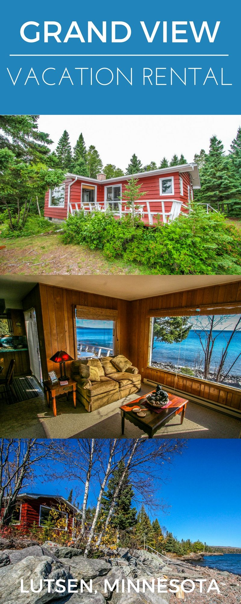 grand vu is a beautiful and quaint vacation rental cottage in lutsen rh pinterest com