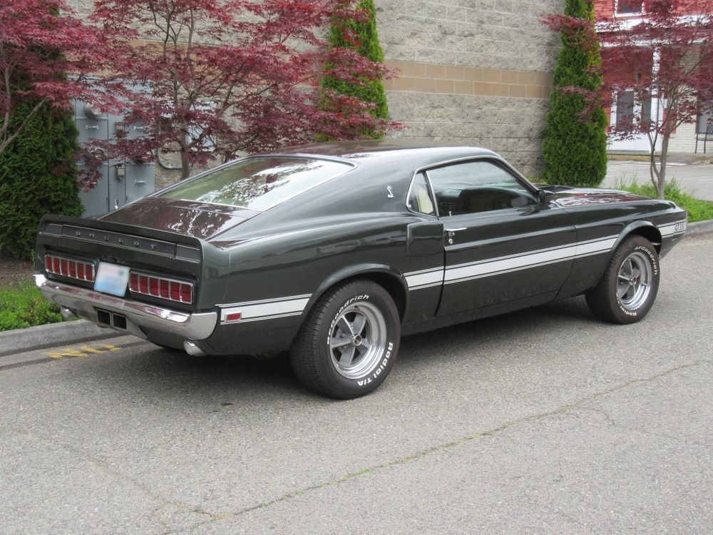 ebay 1969 ford mustang shelby gt 350 fastback a t rare color black rh pinterest com