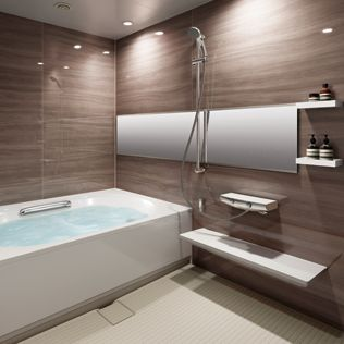 Lixil 浴室 ソレオ 施工イメージ 浴室 おしゃれ バスルーム