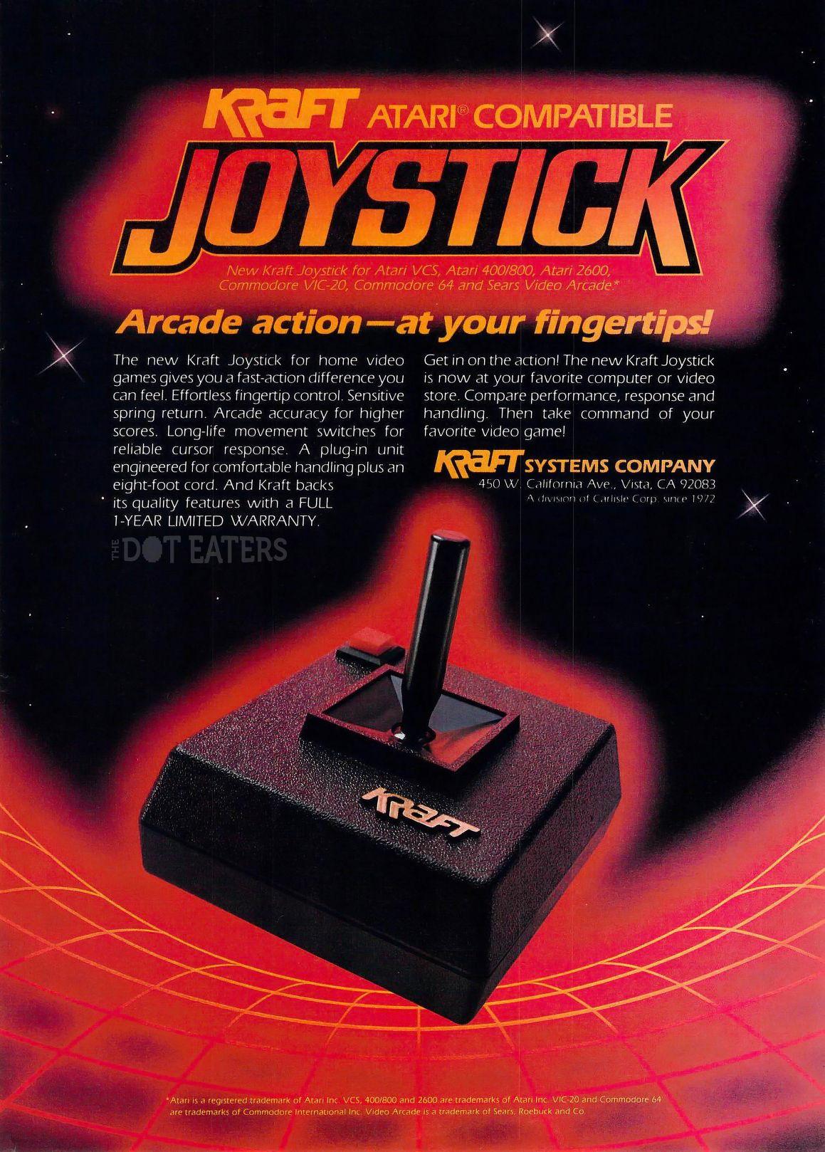 One Krafty joystick (1983). #retrogaming #bitstory