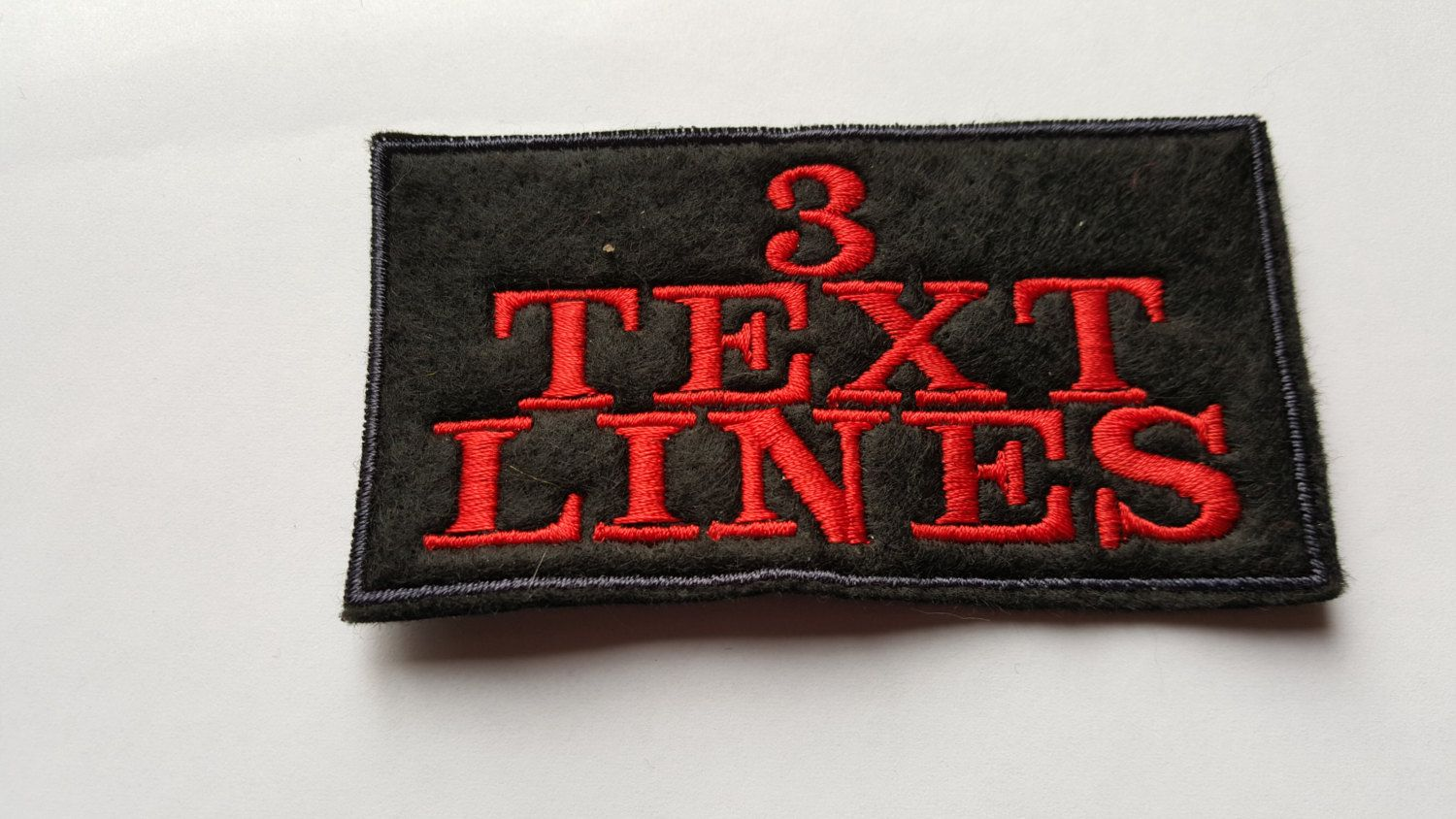 ... Picture of Custom Embroidered Name Tag, ...