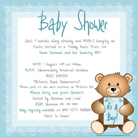 Create Own Baby Shower E Invitations Templates More   www