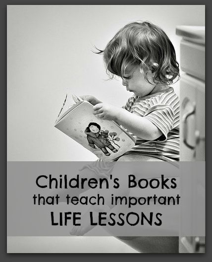 Children's books that teach important life lessons