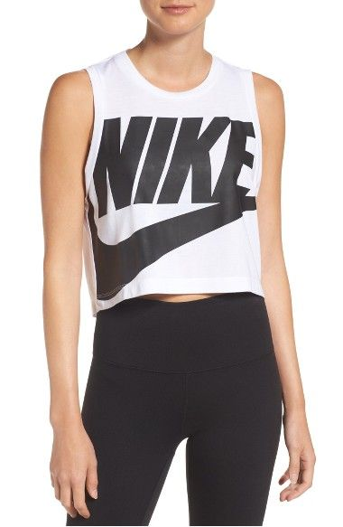 online store 6bc59 38926 NIKE Sportswear Essential Crop Tee.  nike  cloth