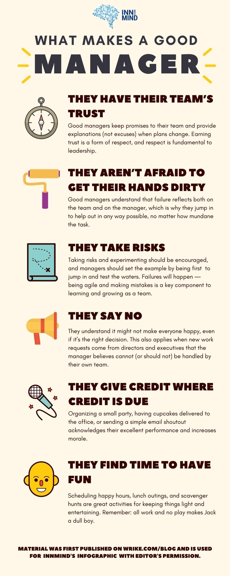 What Makes A Good Manager Infographic Innmind Good
