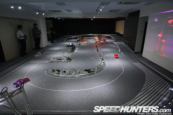 R C Drift Track In Japan Scale Badass Rc Drift Cars