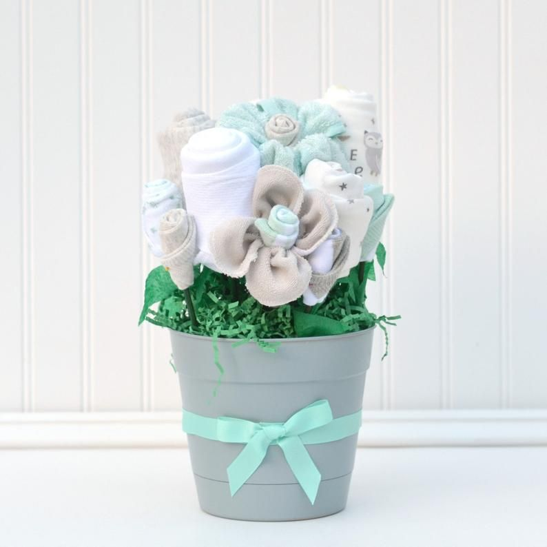 Hospital Baby Gift, Baby Flower Bouquet, Welcome Home Gift ...