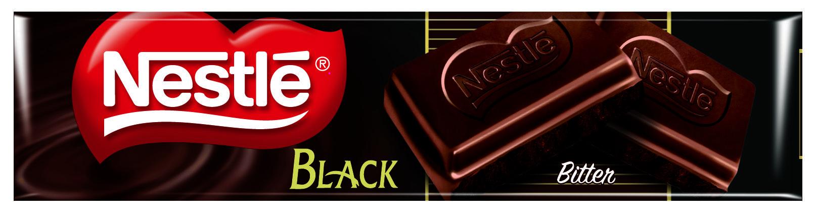 Nestlé Black Bitter Çikolata