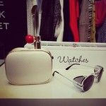 #ouiodile clutch and sunglasses #styligion