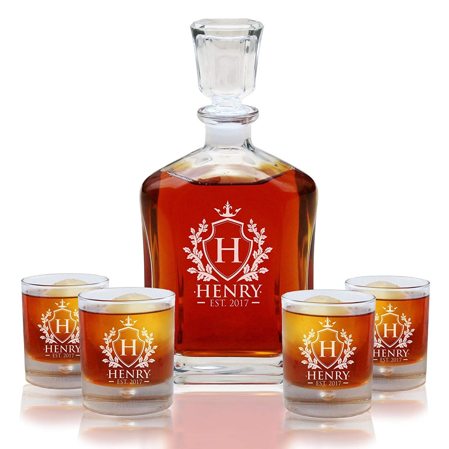 3rd Anniversary Gifts for Him Under 75 Whiskey decanter