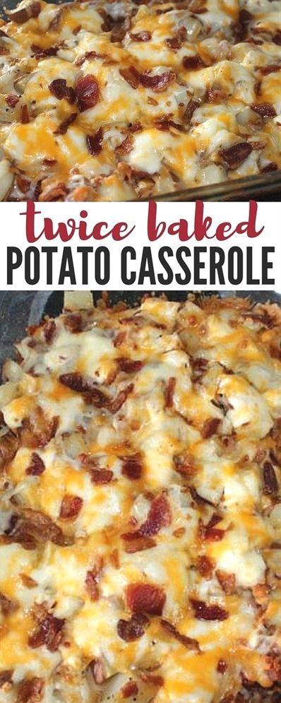 Twice Baked Potato Casserole images