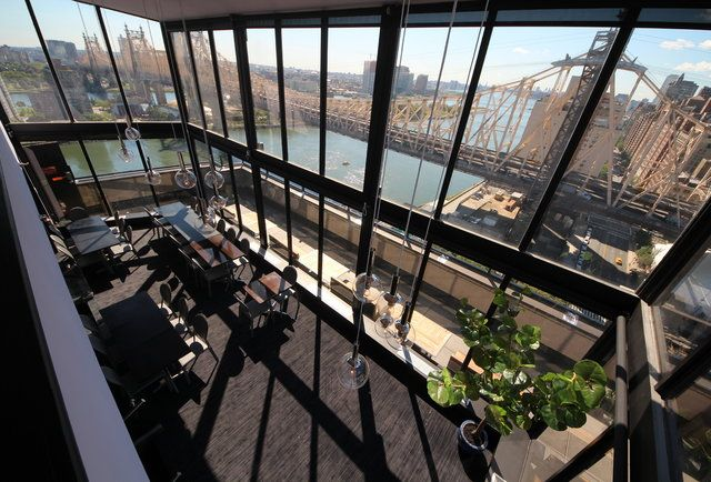 rooftop sushi & more, with bridge views