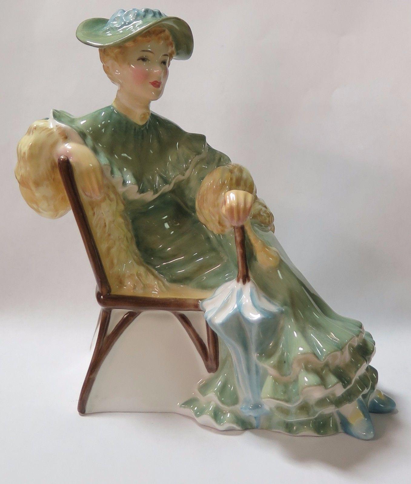 Vintage Lady Figurine 5