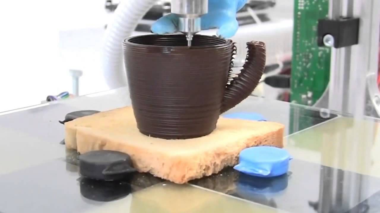 3D printer for chocolate and food - 3d printing, 3d ...