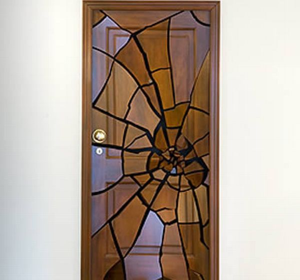 Representation Of Cool Front Door For Dramatic And Crazy Look
