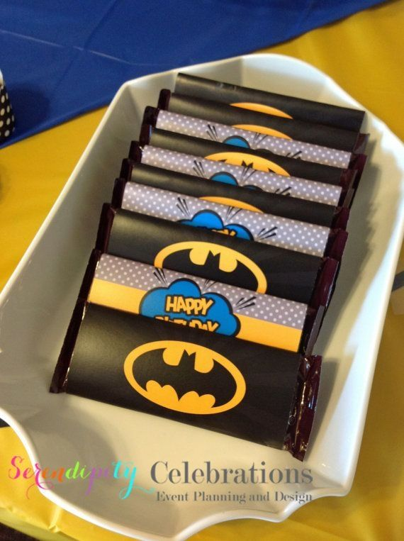 Instant Download Superhero Collection: Printable Candy Bar ...