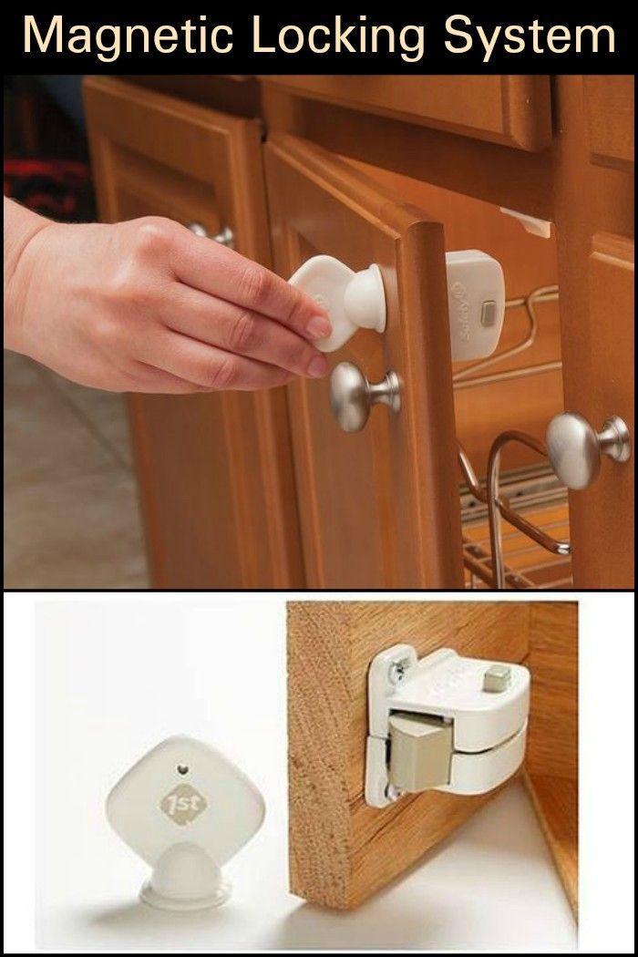 Safety 1st Magnetic Cabinet Locks 8 Locks 1 Key Drawers Key