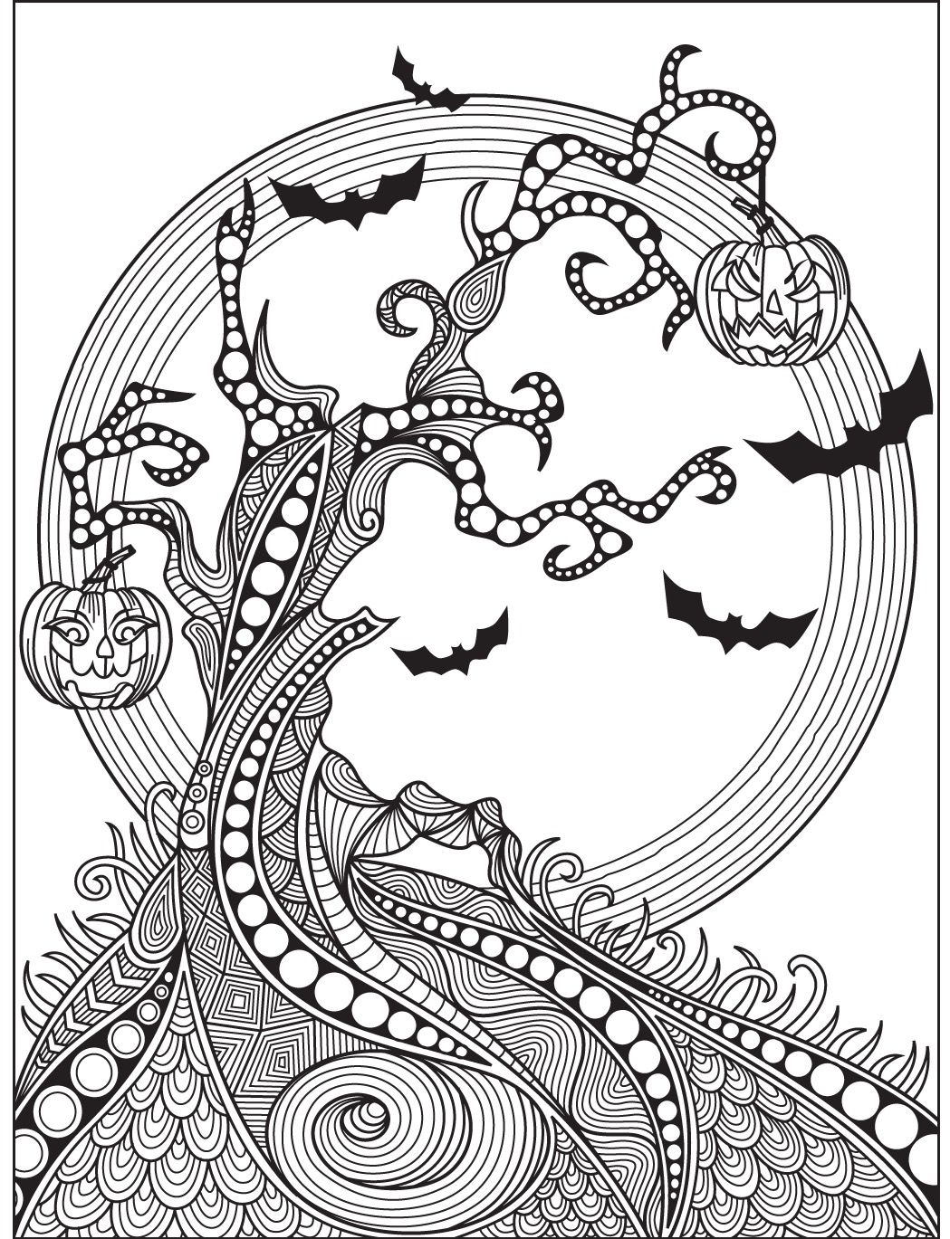 Halloween coloring page Colorish
