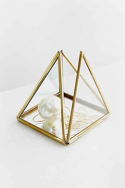 Magical Thinking Pyramid Mirror Box For The Home