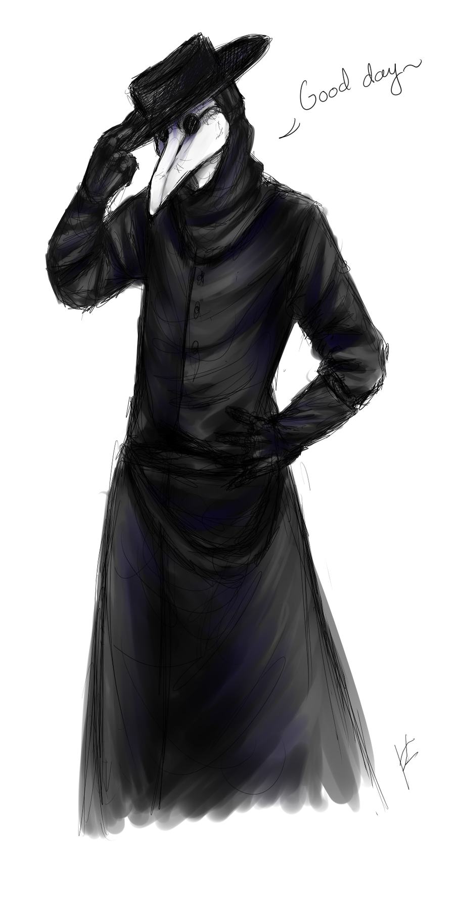 Long Time No See By Yangyexin On Deviantart Plague Doctor Plague Doctor Costume Plague Doctor Mask