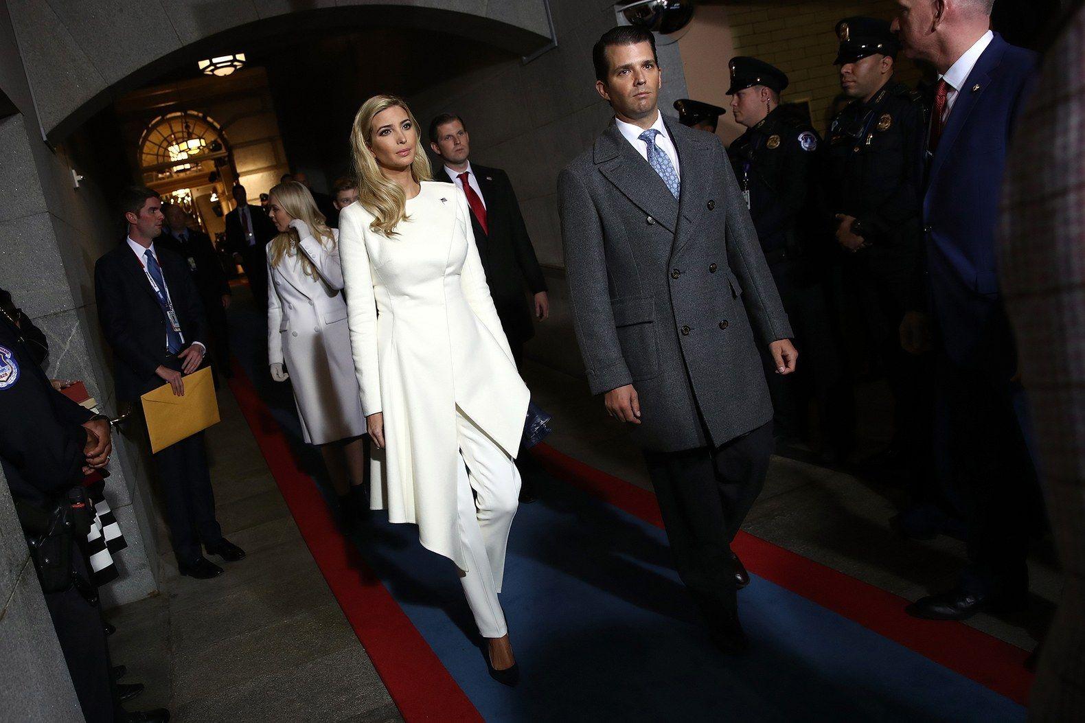 Democrats Want To Interrogate Ivanka And Don Jr Next Ivanka Trump Inauguration Ivanka Trump Photos Ivanka Trump