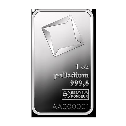 1 Ounce Palladium Bar Valcambi Silver Bullion Palladium Bullion