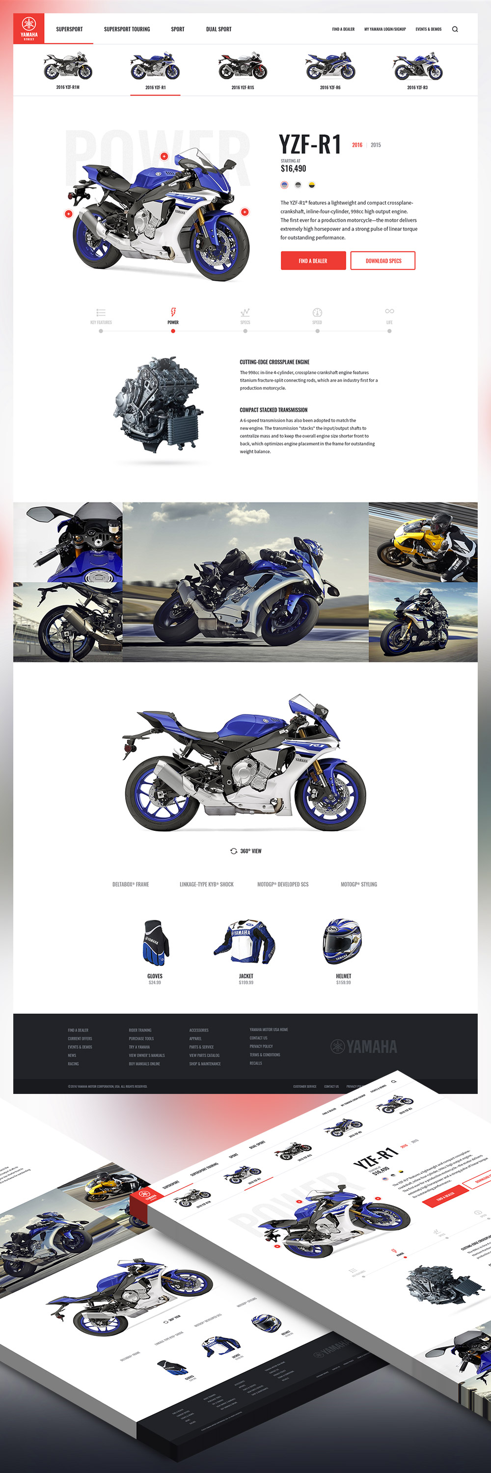cool motor bike shop free psd website template download motor bike